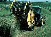 Уборка урожая трав