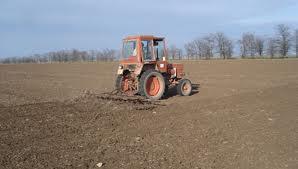 Боронование почвы перед посевом