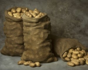 Сколько килограмм картофеля в мешке